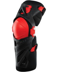 Thor MX Force XP Knee Guard Red