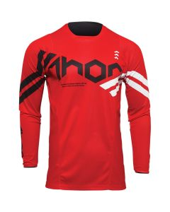 Thor MX Youth Pulse Cube Jersey Red - White 2022 Model