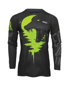 Thor MX Youth Counting Sheep Jersey Charcoal - Acid 2022 Model