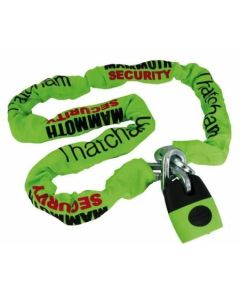 Mammoth Security Lock & 12mm chain x 1.2m -Thatcham Approved
