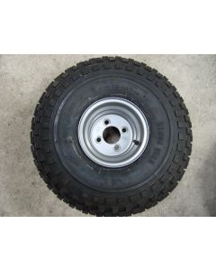 Quad Trailer Wheel and Tyre 22x11x8 4 inch PCD