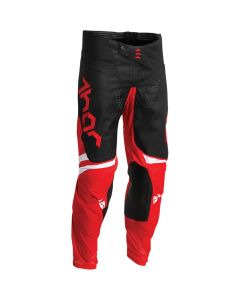 Thor MX Youth Pulse Cube Pants Red - White 2022 Model