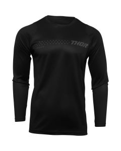 Thor MX Youth Sector Minimal Jersey Black 2022 Model