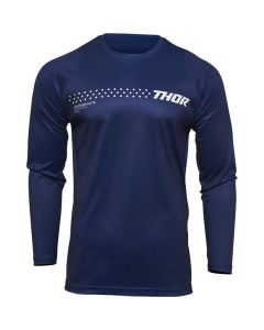 Thor MX Youth Sector Minimal Jersey Navy 2022 Model