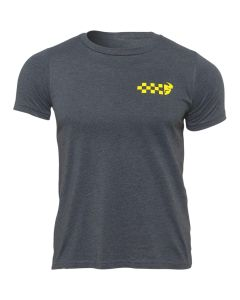 Thor MX Youth Checkers T-Shirt Charcoal 2022 Model