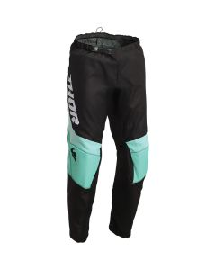 Thor MX Youth Sector Chev Pants Black - Mint 2022 Model