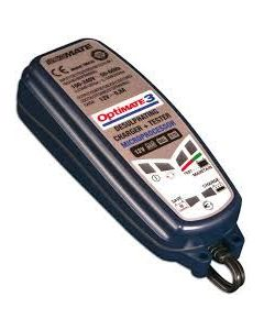 Optimate 3 Battery Charger 12V Quad Motorcycle