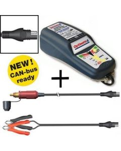 Optimate 4 Dual Program Battery Charger Can Bus Edition
