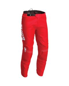 Thor MX Youth Sector Minimal Pants Red 2022 Model