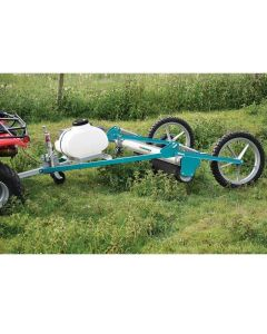 WESSEX TOW BEHIND QUAD ROTARY WEED WIPER WITH 50 LTR TANK