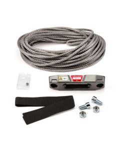 """WARN 100969 Accessory Kit - Epic Synthetic Rope for ATV and UTV Winch: 3/16"""" x 50'"""