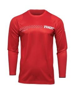 Thor MX Youth Sector Minimal Jersey Red 2022 Model