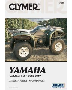 Yamaha Grizzly 660 02-08 Workshop Manual