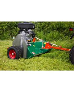 Wessex AF-120 18hp Briggs & Stratton Tow Behind Quad Bike Flail Topper