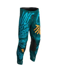 Thor MX Youth Counting Sheep Pulse Pants Teal 2022 Model