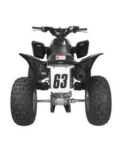 7 inch x 10 inch Quad Bike Racing Number Plate MX Rectangle